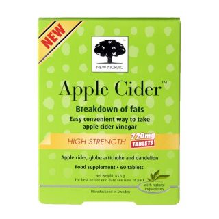 New Nordic High Strength Apple Cider - 60 Tablets