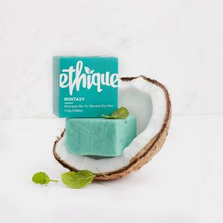 Ethique Mintasy Shampoo Bar For Normal to Dry Hair - 110g