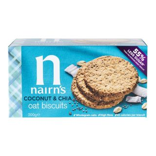 Nairn's Oat Biscuits Coconut & Chia - 200g