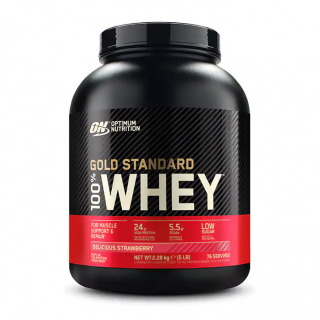 Gold Standard 100% Whey Delicious Strawberry